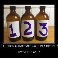 """Intuition Game – """"Message in a Bottle"""""""